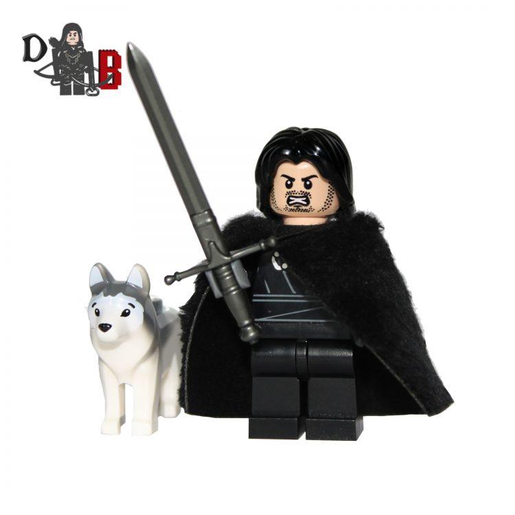 lego Jon snow game of thrones