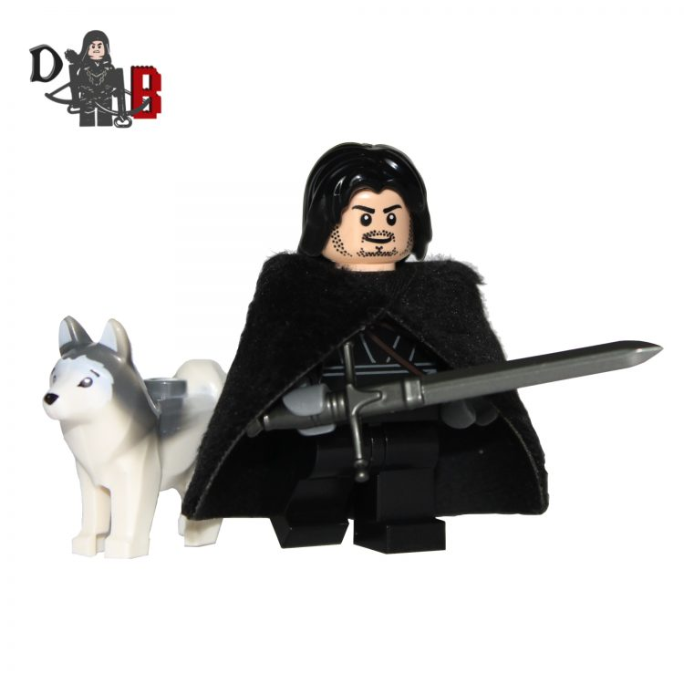 lego Jon snow game of thrones