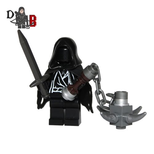 Custom Lord of the Rings Witch King Ringwraith Minifigure made using LEGO & custom parts.
