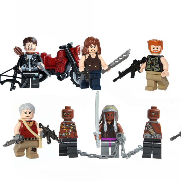 lego walking dead 9 pack rectangle