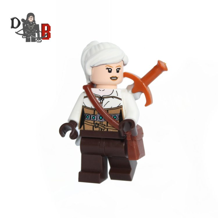lego ciri witcher custom