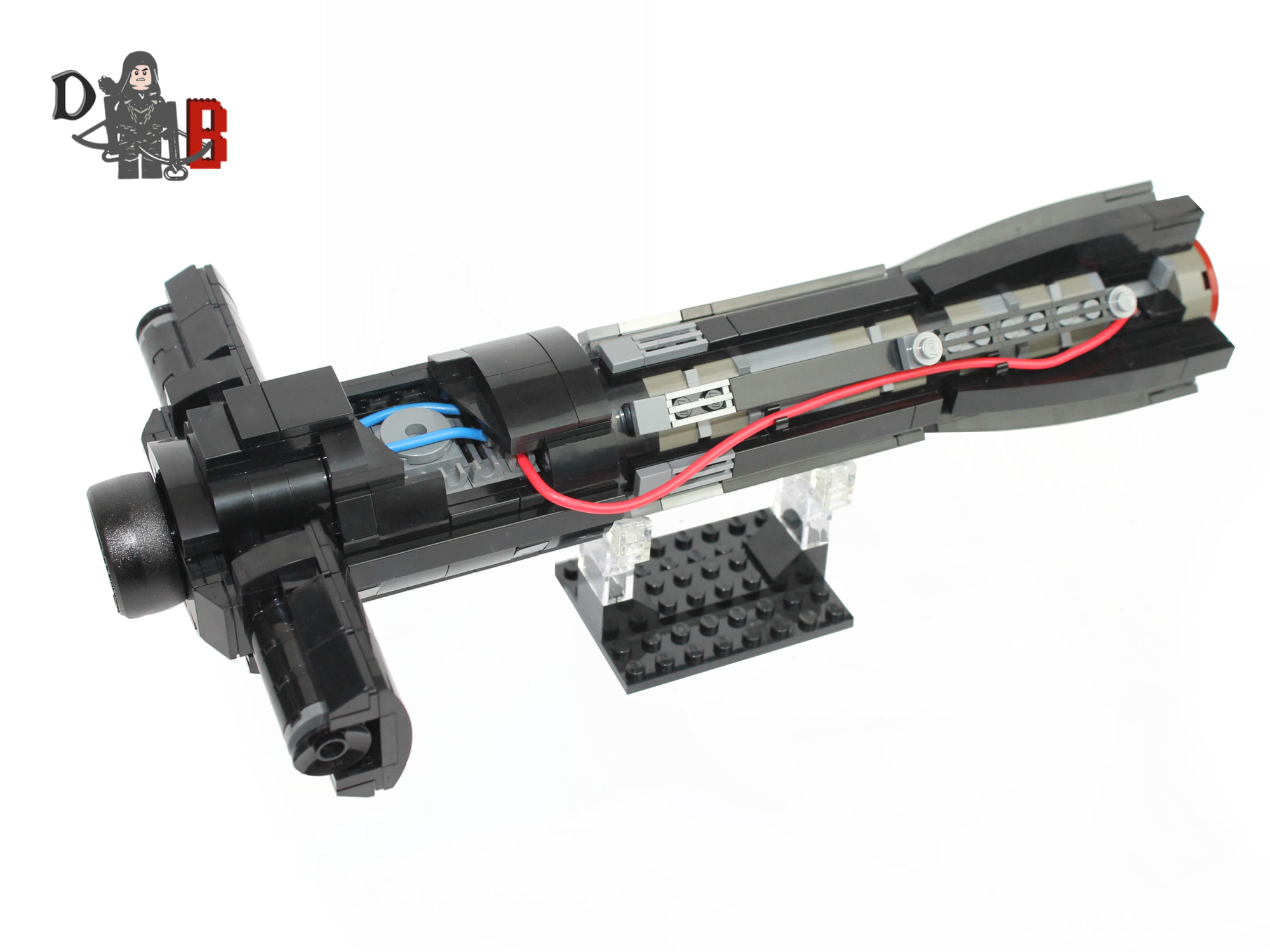Lego kylo ren lightsaber main