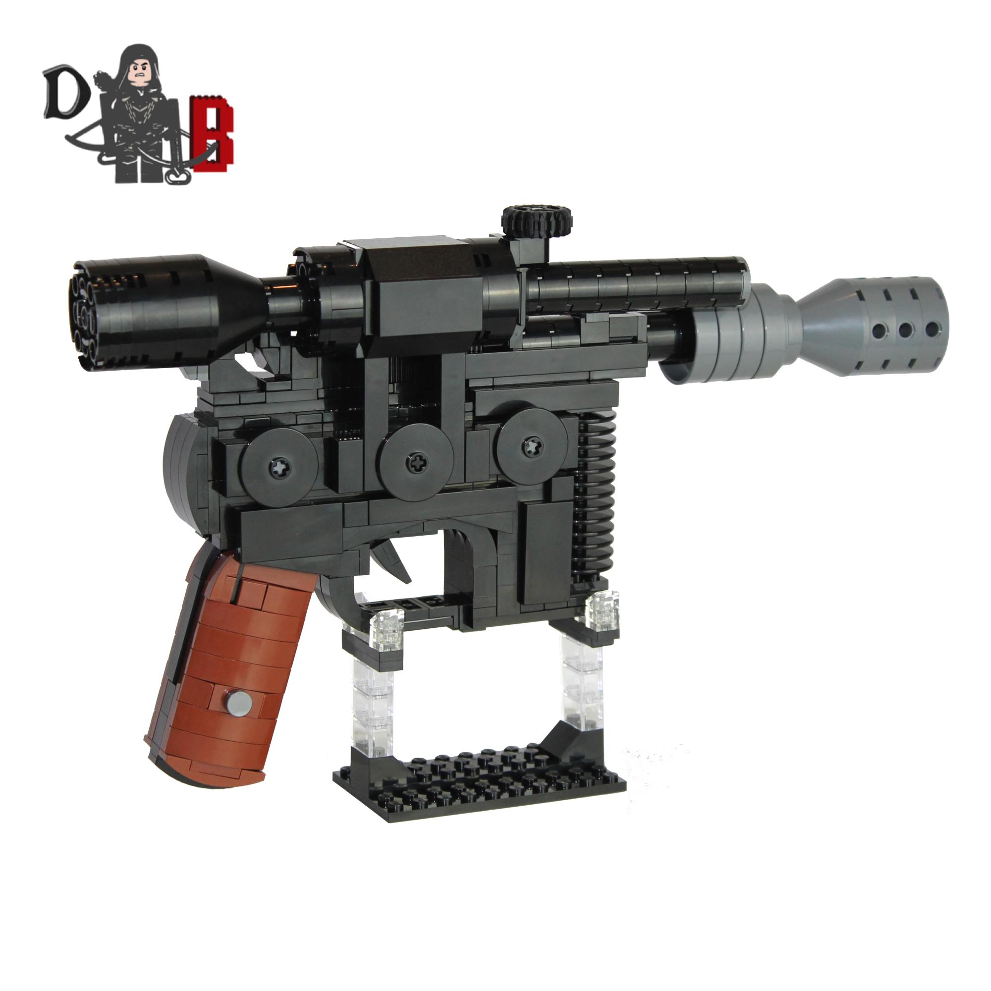 Han Solos Dl 44 Heavy Blaster Pistol Demonhunter Bricks