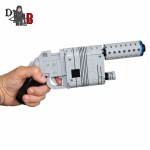 Star Wars custom Han Solo/Rey Blaster NN-14 from The Force Awakens made using LEGO pieces