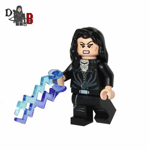 "This custom designed Minifigure is based upon Yennefer from the popular Witcher Series. Includes hand attachment with lightning. The chest has been designed by me and permanently machine printed on. Made using genuine LEGO parts only. Each Minifigure is carefully packaged into a re-sealable bag and shipped in a bubble lined envelope for extra protection. ""LEGO® is a trademark of the LEGO Group of companies. The LEGO Group does not sponsor, authorise or endorse the modified/customised product(s) shown nor does it accept responsibility in any way, shape or form for any unforeseen and/pr adverse consequences following from such customisation/modification."""