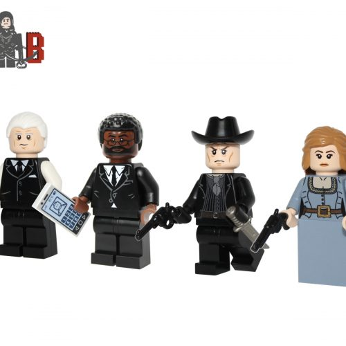 LEGO Westworld 4 pack Dr ford Man in black Benard Dolores