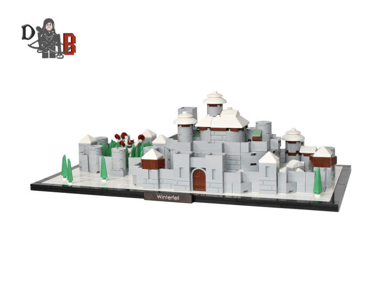 Lego Winterfell game of thrones